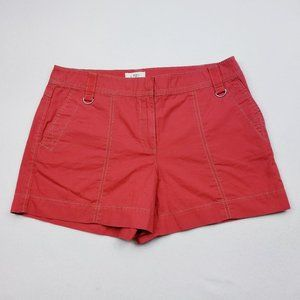 Ann Taylor Loft Earth Red/Taupe Shorts - 8 - NWT